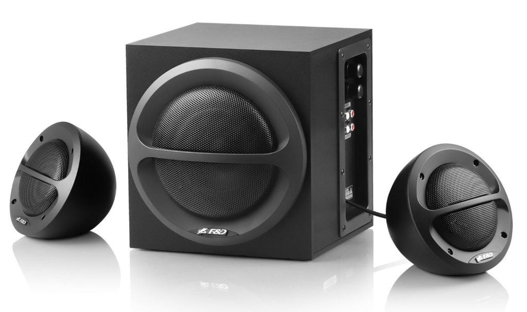 34e156619 F D A110 Multimedia Speakers - The Best 2.1 Speakers